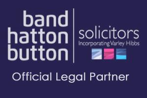 Official Legal Partner - Band Hatton Button